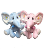 "12"" Pink/ blue elephant (SKU: EK-012)"