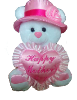 "15"" Mothers day bear/hat (available 4/5) (SKU: M272)"