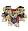 "10"" Grad brown bear w/ pic frame (SKU: EK-028/9.5A)"