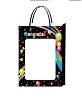 "14"" Grad black gift bag(available 5/25) (SKU: WB-M/BK)"