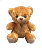 "16"" Brown bear (SKU: EK-844B)"