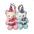 "11"" Birthday & party bears/song"