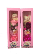 Mothers day bear/flower in gift box