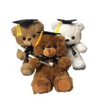 "10"" Graduation 3col. Bears"