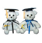 "10.5"" Graduation autograph bear(avail 4/15)"