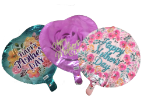 "18"" 5 asst. Mothers day  helium balloons"