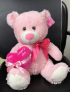 "16"" Mother's day pink bear"