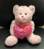 "14"" Mothers day pink bear"