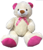 "39"" Creamy Valentine's Day Bear"