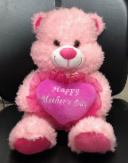 "17""  Mothers day pink bear"