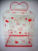 "17"" pink heart plastic box (SKU: CT2568)"