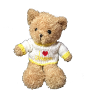 "14"" Love Grandma bear in sweater (SKU: EK-053MS)"