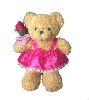 "14"" Mothers day bear/skirt (SKU: EK-053M)"
