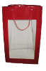 "20"" Red gift bag/window (SKU: WB-L/R)"