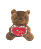 "7.5"" Valentine brown bear (SKU: DG8002-DBV)"