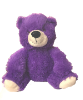"10"" Mothers day purple bear (SKU: EK-001M)"
