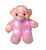 "12"" LED pink bear (SKU: EK-890/12P)"