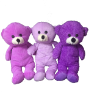 "12"" Asst.purple bear (SKU: EK-020)"