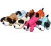 "8"" 7 color laydown dogs (SKU: EK-9446)"