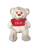"12"" Valentine .bear in t-shirt"