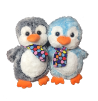 "15"" 2 color penguin/scarf"