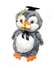 "15"" Graduation penguin"
