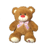 "11"" Valentine brown bear"