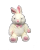 "9"" Easter white bunny"