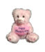 "6"" Mothers day pink bear (SKU: SS-PW7PM)"