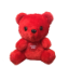 "6.5"" Valentine red bear (SKU: EK-0557R)"