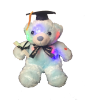 "12"" Grad. LED blue bear"