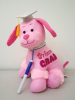 "12"" Grad.autograph pink dog (SKU: CT2443)"