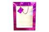 "14"" Fuchsia gift bag (SKU: U60763)"