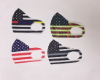 USA flag face mask washable & reusable (SKU: HH356)