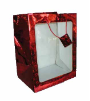 "14"" Red glitter gift bag (SKU: 60534)"