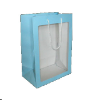 "11""light  Blue gift bag/window (SKU: WB-S/BL)"