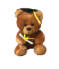 "7"" Grad. brown bear (SKU: EK-007BG)"