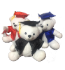 "10"" Grad. white bear (SKU: EK-1903)"
