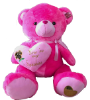 "36"" Hot Pink Valentine's Day Bear (SKU: FY1653-91B)"