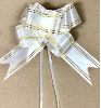 "2"" White Pull It Ribbon 10pcs (SKU: JH207352)"