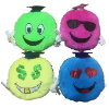"16"" Grad. 4 asst.emoji pillows (SKU: K3531-50G)"
