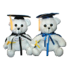 "10"" Graduation autograph bear (SKU: EK-0001/10)"