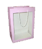 "20"" Pink gift bag/window (SKU: WB-L/P)"