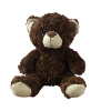 "10"" Dark brown bear"