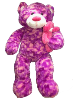 "50"" Tie Dye Pink Bear with Baby"