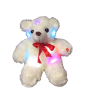 "12"" LED white bear"