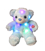 "12"" LED blue bear"
