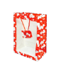"11"" Valentine printed gift bags"