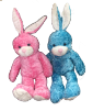"19"" 2 colors bunny"