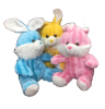 "16"" 3 colors bunny"